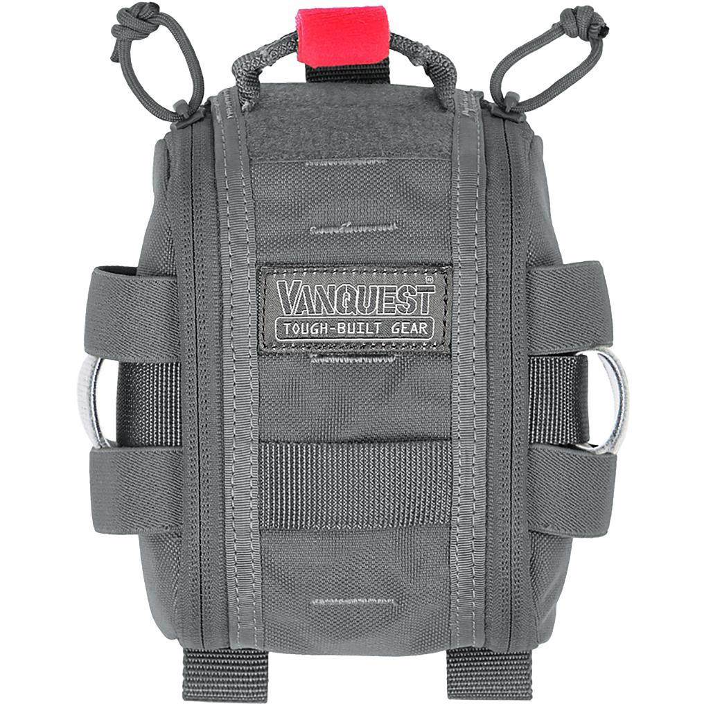 Fatpack 4X6 (Gen-2) First Aid Trauma Pack - Wolf Gray
