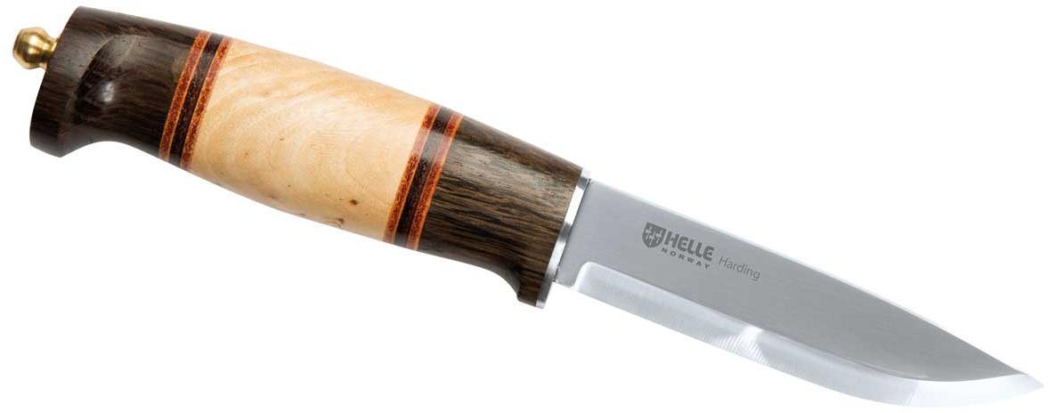 Jagd-/Outdoormesser HARDING - beige - dark brown