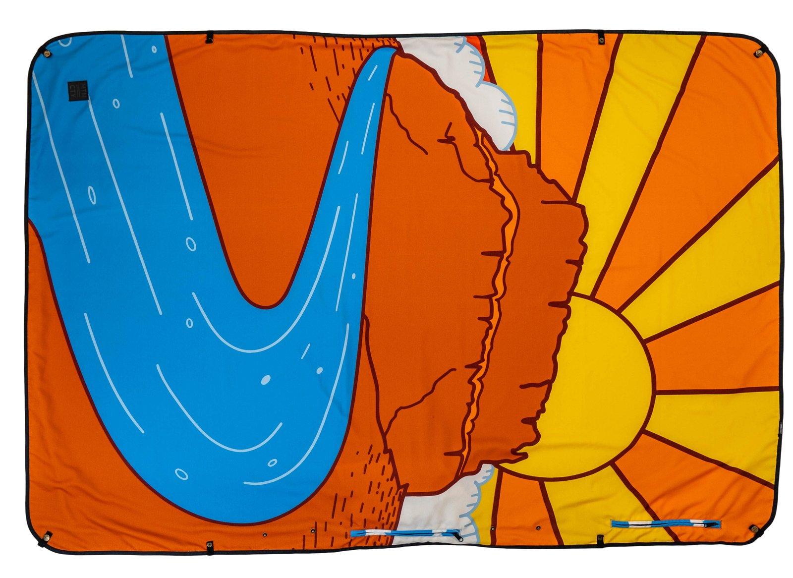 Blanket Desert Sunset Kachula
