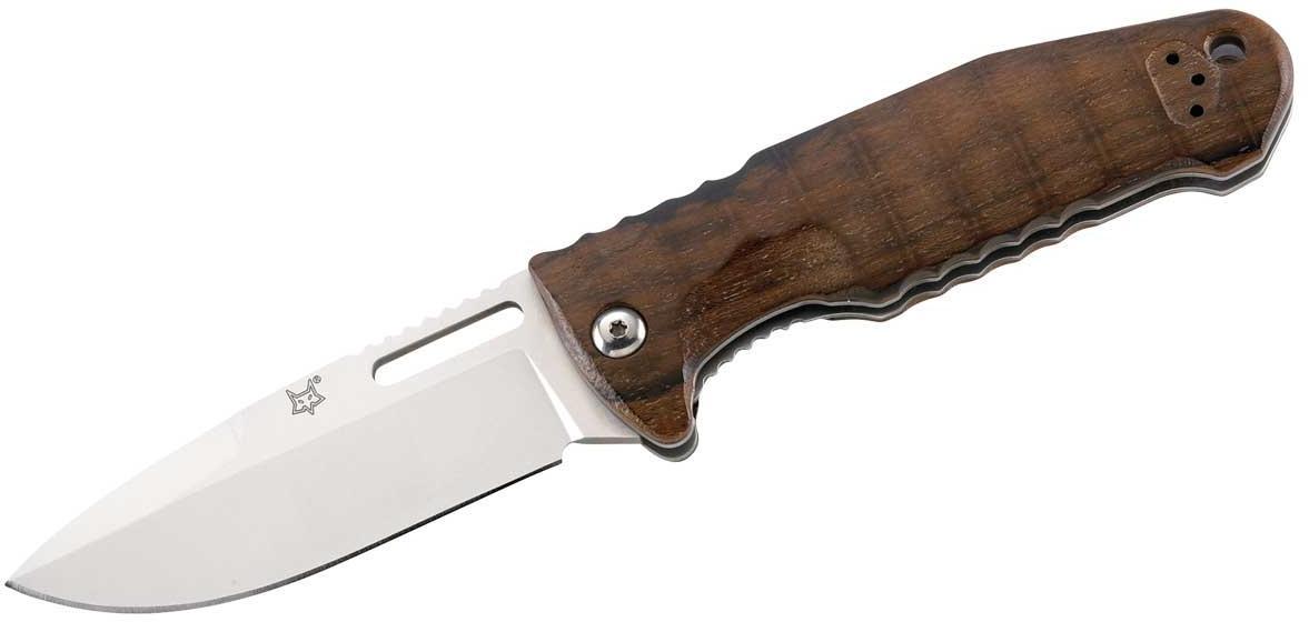 Einhandmesser Ziricote-Holz - braun