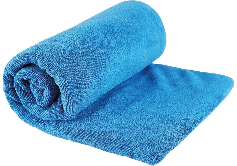 TEK TOWEL L - pacific-blau