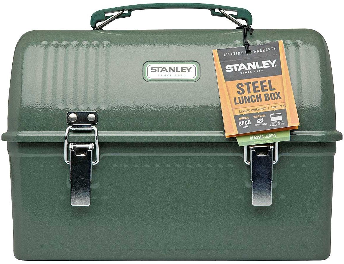 Classic Lunch Box, 9.4 Liter - Hammertone Green