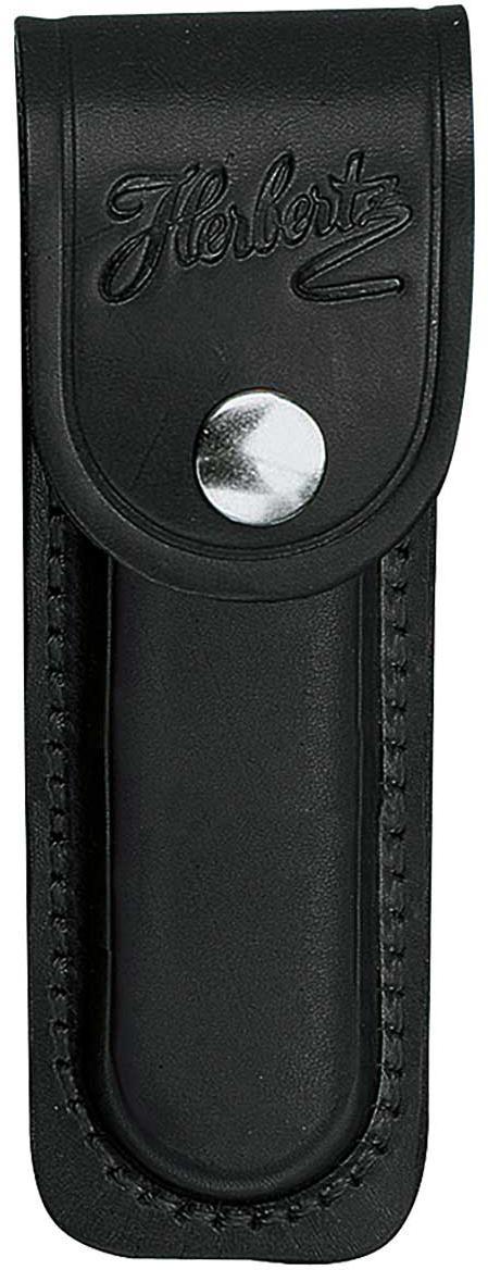 Lederetui, schwarz, für Heftlänge 11 cm
