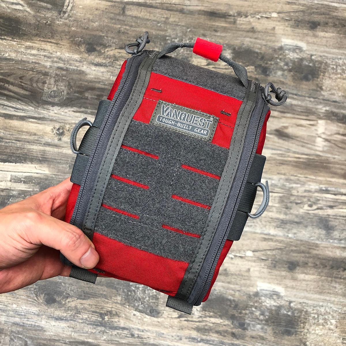 Fatpack 5X8 (Gen-2) First Aid Trauma Pack - Rot