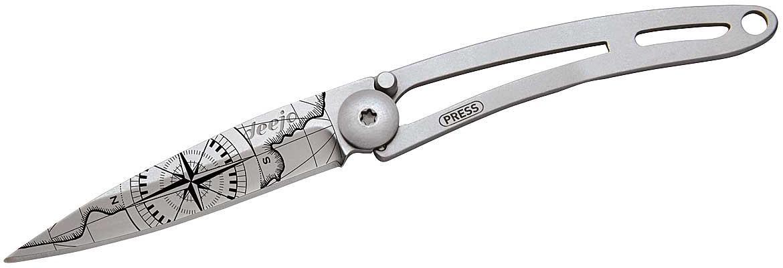Taschenmesser NAKED 15g Tattoo TERRA INCOGNITA