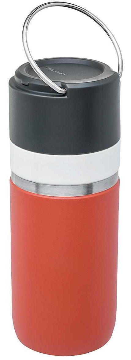 Go Series Vacuum Bottle 470 ml  - Rot