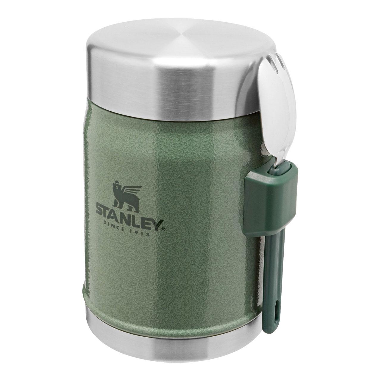 Classic Legendary Food Jar 400 ml mit Spork - Hammertone Green
